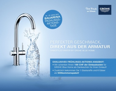 Frühlings-Aktionstage GROHE