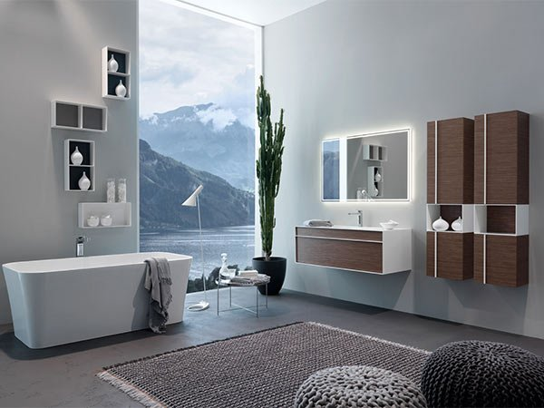 Moderne badezimmer trends ideen for Modernes bad mit dusche