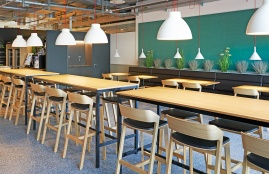 Co-Working Space in der Bauarena